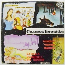 Cuentos Infantiles / Blanca Nieves. 1 Disco Lp Vinil