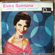 Bolero, Elvira Quintana, Bolero Inmortal, Lp 12´, España
