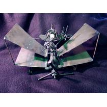 Figura Decorativa De Aeroplano En Metal 3