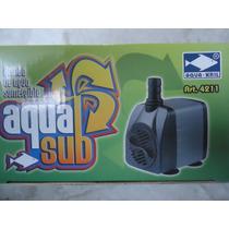 Bomba De Agua Sumergible 800l/h 1.60m