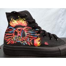 Converse Aerosmith Metal Rock