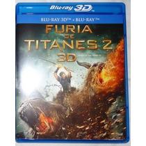 Furia De Titanes 2 En 3d ( Bluray 3d + Bluray )