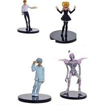Death Note - Set De Figuras L Ryuk Misa Light Near Rem