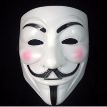 Mascara V De Vendetta Blanca Envio Gratis Por Sepomex