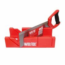 Caja De Inglete Con Serrucho 12 Wf0609 Wolfox