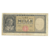 Billete 1,000 Liras (1948) Italia Lqe