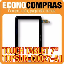 Touch Tablet China 7 Universal Topsun-c0027-a1 100% Nueva!!!
