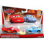 Cars Disney Hudson Hornet Piston Cup Mcqueen & Sally.