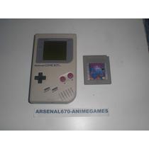 Game Boy Tabique Con Un Juego (mario,donkey,tortugas)