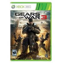 Gears Of War 3 Para Xbox 360 Como Nuevo!!! Vmj