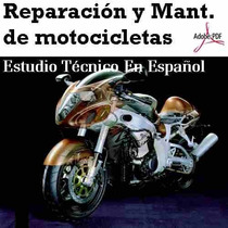Reparación Y Mantenimiento De Motocicletas Libro