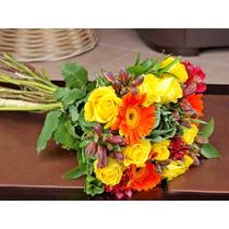 Ramo De Flores A Domicilio Frescas Primaveral Para Regalo