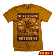 Playera King Monster Street Fighting