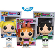 Chicas Super Poderosas Funko Pop Comic Con Powerpuff Girls