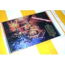 Mantel De Plastico, Star Wars Mide 2x1.50 Mts