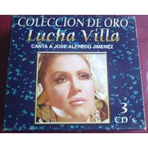 Lucha Villa Con Mariachi Coleccion De Oro Boxset Raro 3 Cds