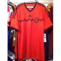 Playera Adidas De Mexico Mundial 2014 Talla M