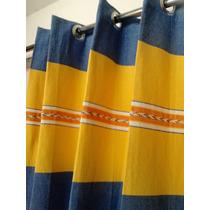 Cortina De Telar Oaxaqueño 300 X 220 Envio Incluido Por Dhl