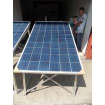 Soporte De Aluminio Para Panel Solar 145w