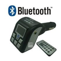 Transmisor Fm Bluetooth Para Auto, Manos Libres, Música, Mp3