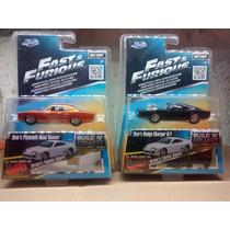 Pack 6 Escala 1:55 Rapidos Y Furiosos Jada Toys.