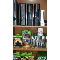 Paquete 4 Consolas 2 Xbox E, Wii, Ps2 Slim Juegos Inlcuidos
