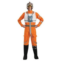 Disfraz Star Wars X Wing Piloto Adulto Traje De Lujo