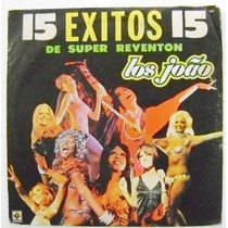 Los Joao / 15 Exitos De Super Reventon 1 Disco Lp Vinil