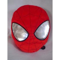 Peluche - Mochila De Spiderman Hombre Araña Bordada Calidad