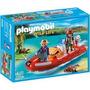 Playmobil 5559 Lancha Inflable Con Exploradores De Rio Lago