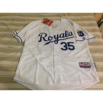 Jersey Beisbol Kansas City Royals #35 Eric Hosmer