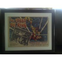 Las Lobas Del Ring / Cartel De Cine Lobby Card / Lucha Libre