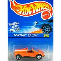 Hot Wheels Pontiac Salsa #596 De Colección 1:64 Impecable