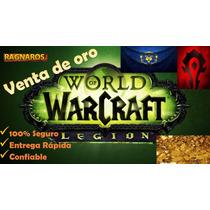 Oro World Of Warcraft (ragnaros/alianza-horda)