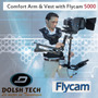 Flycam 5000 Completo Arm & Vest Estabilizador Video Steadyca