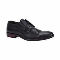 Zapatos De Vestir Para Caballero Negro De Piel