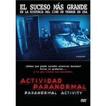 Dvd Actividad Paranormal ( Paranormal Activity ) - Oren Peli