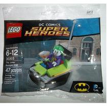 Minifigura Joker Bumper Car Batman Lego Superheroes Ugo