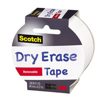 Cinta Adhesiva Removible Dryerase Tape 1.88inx5yd Scotch 3m