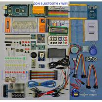Arduino Mega Kit Starter Full, Gratis Envío+ Wi+ Blue