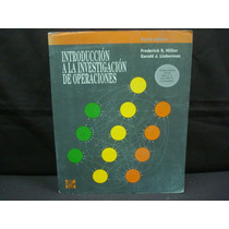 Introducción A La Investigación De Operaciones, 6ª. Ed.