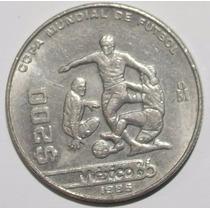 Monedas Antiguas 200 Pesos Mexicanos Mundial Fútbol 1986