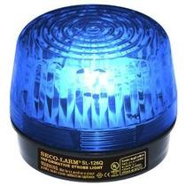 Seco-larm Sl-126q / B Azul Seguridad Luz Estroboscópica