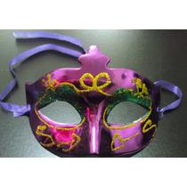 Antifaz Colores Metalicos Economicos Para Carnaval