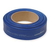 Manguera De Descarga De Agua, 1-1/2, 300 Pies, Azul, 90 Psi