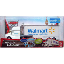 Cars Disney Mack. Walmart. Wally. Hauler.