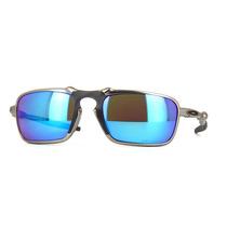 Oakley X-metal Badman Plasma - Sapphire Iridium Polarized