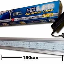 Lampara Led 150cm Acuario Plantas Acuaticas 28w Aluminio Co2