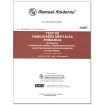 Hmp Test De Habili Exclusivamente Hoja De Respuesta. Paq. 15