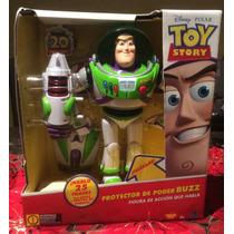 Toy Story Figura Buzz Lightyear Proyector De Poder Sonidos